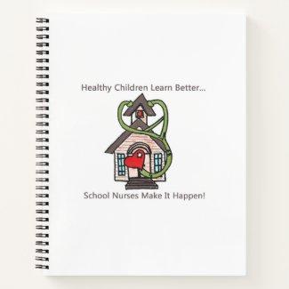 School Nurse daily journal, calendar, notebook etc