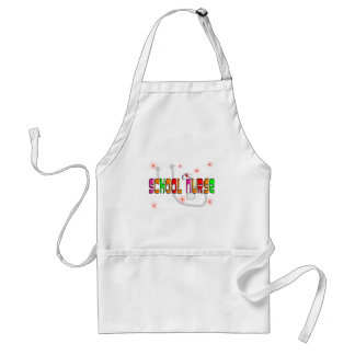 School Nurse Gifts & T-Shirts Adult Apron