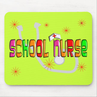 School Nurse Gifts & T-Shirts Mouse Pad