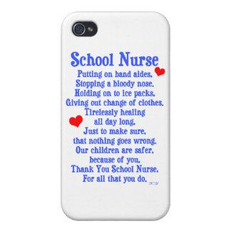 School Nurse iPhone 4 Cases