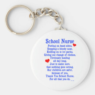 School Nurse Keychain