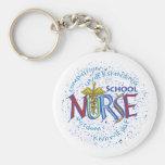 School Nurse Motto Key Chains