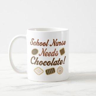 School Nurse Needs Chocolate Coffee Mugs