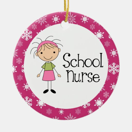 School Nurse Ornament
