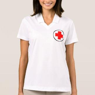 school nurse polo nike dri-fit