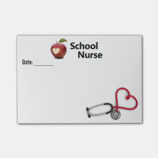 School Nurse Post-It Note Post-it® Notes