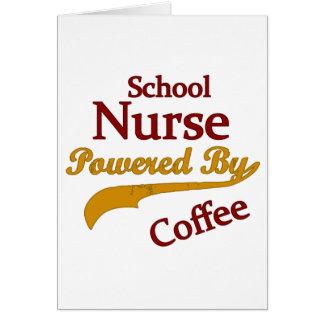 School Nurse Powered By Coffee Card