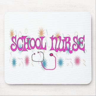 SCHOOL NURSE Unique Gifts Items Mouse Pad