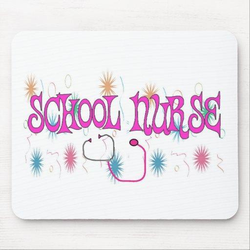 SCHOOL NURSE Unique Gifts Items Mouse Mat