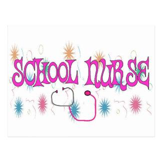 SCHOOL NURSE Unique Gifts Items Post Cards