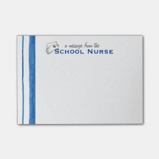 School Nurse Vintage Nurse's Cap Post-it Note