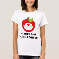 School Nurse (Worlds Best) T-Shirt