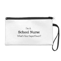 School Nurse Wristlet