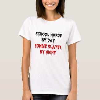 School Nurse Zombie Slayer T-Shirt