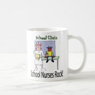 School Nurses Rock mug