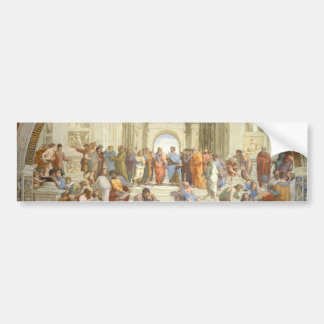 School of Athens Bumper Sticker