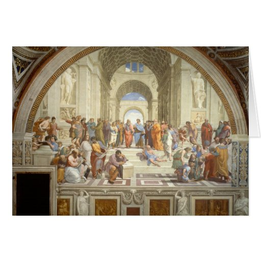 School of Athens Card