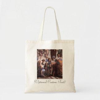 School of Athens (detail - Euclid) Canvas Bag