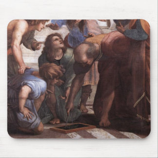 School of Athens (detail - Euclid) Mouse Pad