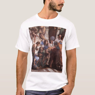School of Athens (detail - Euclid) T-Shirt