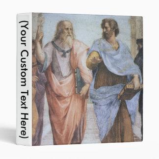 School of Athens (detail - Plato & Aristotle) Binder