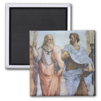 School of Athens (detail - Plato & Aristotle) Magnet