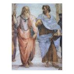 School of Athens (detail - Plato & Aristotle) Postcard