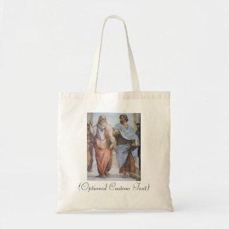 School of Athens (detail - Plato & Aristotle) Tote Bag