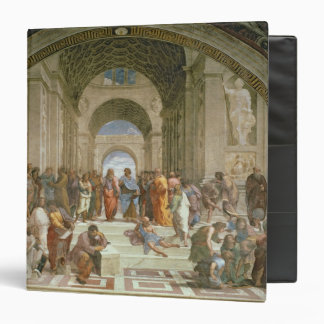 School of Athens, from the Stanza della 3 Ring Binder