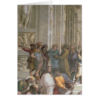 School of Athens, from the Stanza della Greeting Card