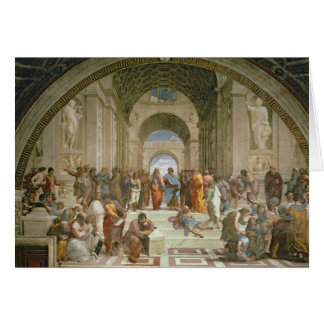 School of Athens, from the Stanza della Card
