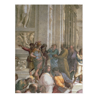 School of Athens, from the Stanza della Postcard