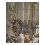 School of Athens, from the Stanza della Poster