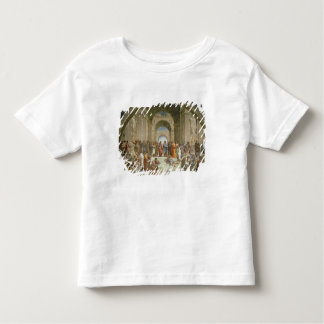 School of Athens, from the Stanza della Toddler T-shirt