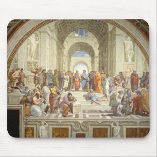 School of Athens Mouse Pad
