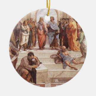 School of Athens Christmas Ornament