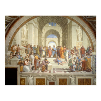 School of Athens Postcard