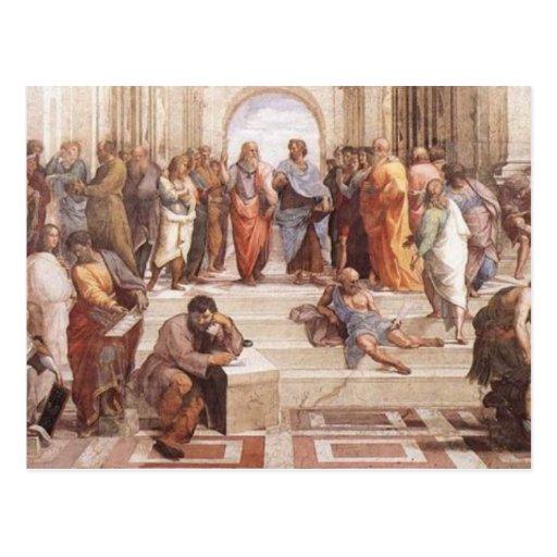 School of Athens Postcard