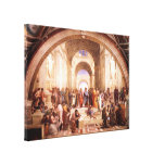 School of Athens Stretched Canvas Prints