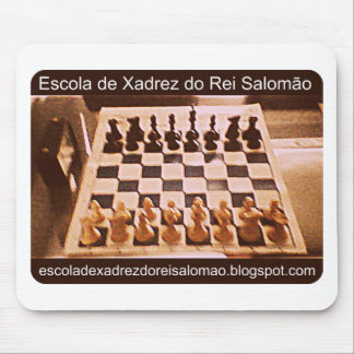 School of Chess of King Salomão Mousepad