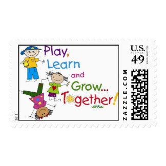 School of Children Stamps