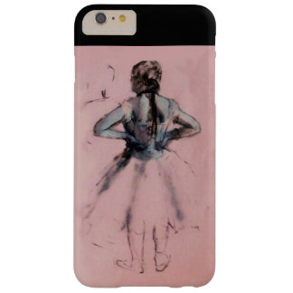 SCHOOL OF DANCE /BALLERINA  BALLET DANCER MONOGRAM BARELY THERE iPhone 6 PLUS CASE