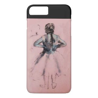 SCHOOL OF DANCE /BALLERINA  BALLET DANCER MONOGRAM iPhone 8 PLUS/7 PLUS CASE