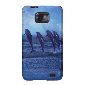School of dolphins by moonlight galaxy SII case