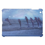 School of dolphins by moonlight case for the iPad mini