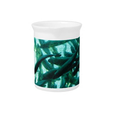 Beach Themed School of Fish Drink Pitcher