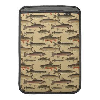 School Of Fish MacBook Sleeves