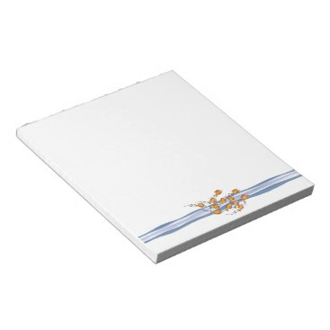 Beach Themed School of Fish Notepad