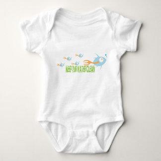 School of Fish Organic Planet Kid's Shirts