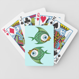 School Of Fish Playing Cards